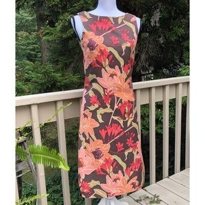 Tommy Bahama Silk Floral Dress Sleeveless